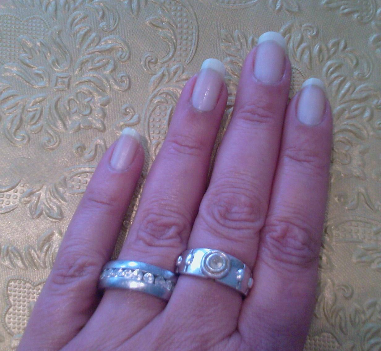 Fingernägel ohne Lack